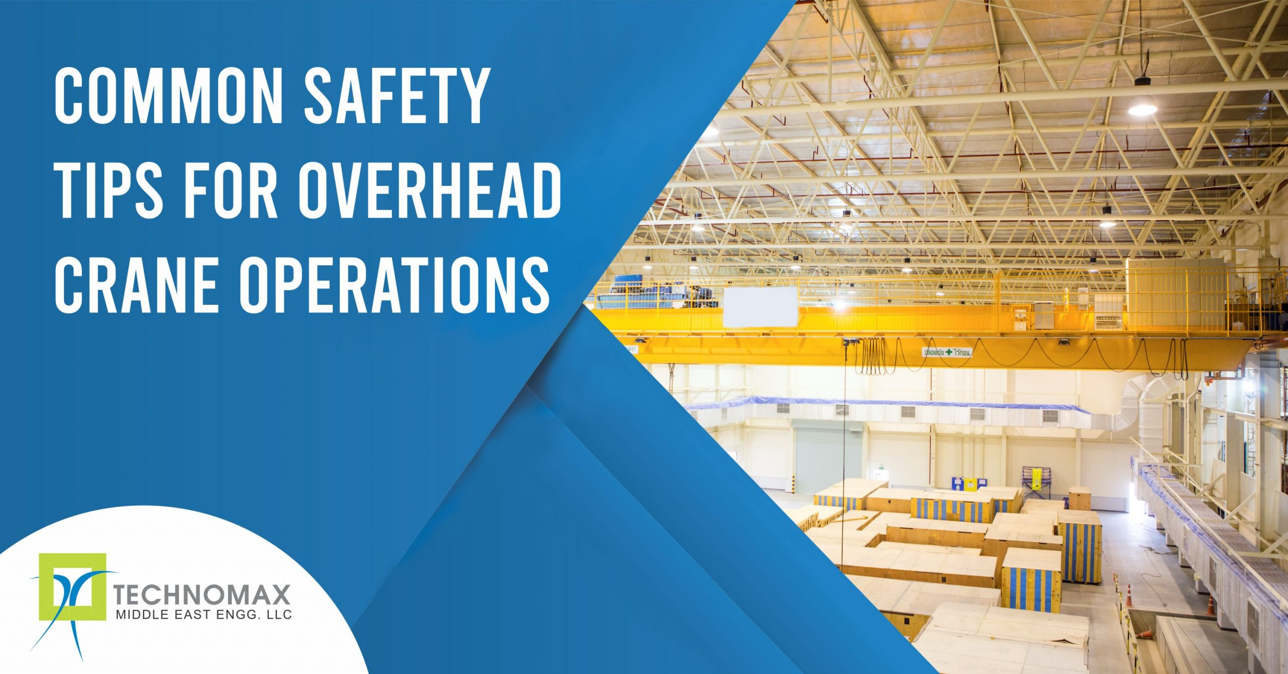 Common safety tips for overhead crane operation