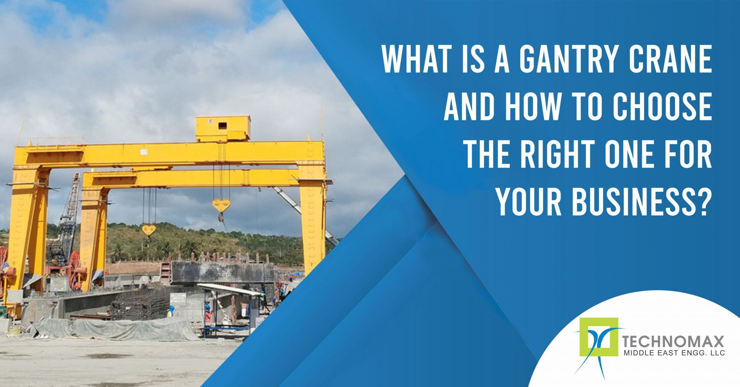 What is a gantry crane