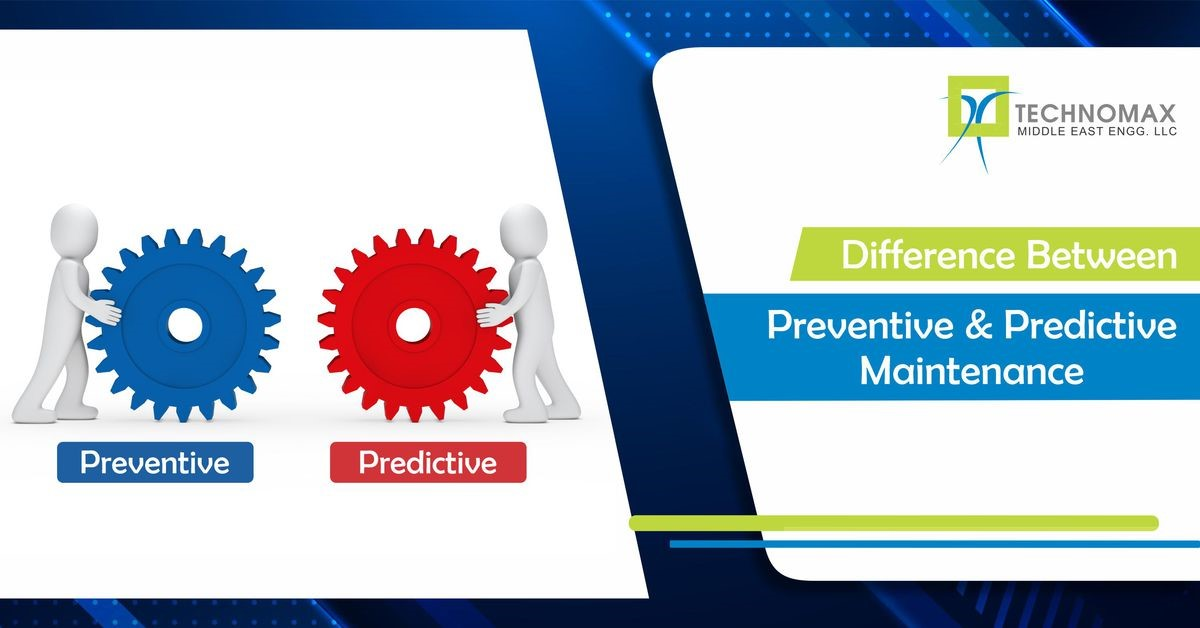 Difference between preventive and predictive maintenance